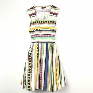 Kate Spade SATURDAY Colorful Dress XS Q1